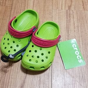 Crocs for girl size 8/9